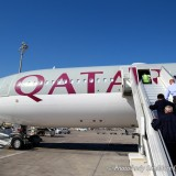 Qatar airways brussels to doha business class