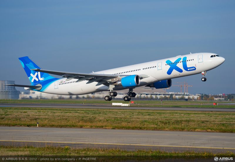 Xl airways france becomes a new a330 300 operator for Airbus a330 xl airways interieur