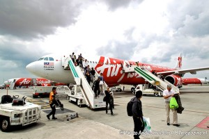 AIR ASIA X FLIGHT FROM KUALA LUMPUR TO SYDNEY