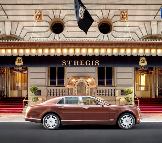 Hotel History St Regis Hotel In New York Business