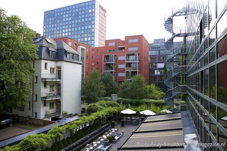 design hotel roomers frankfurt business travel