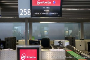 AIR BERLIN SPECIAL DUSSELDORF TO NEW YORK