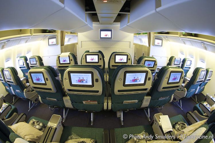 The gallery for --> Emirates A380 Economy Food