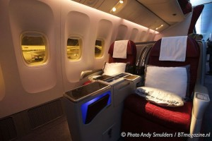 QATAR AIRWAYS BUSINESS CLASS B777 EN A380