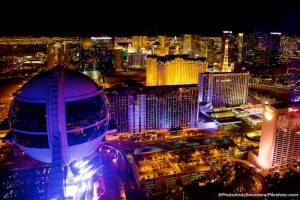 LAS VEGAS HIGH ROLLER OBSERVATION WHEEL