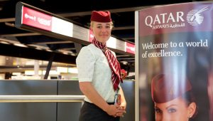 QATAR AIRWAYS BUSINESS CLASS SPECIAL ASSISTENTIE OUDEREN